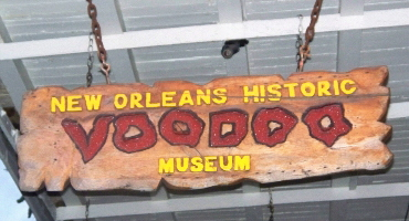 Experience the eerie side of new orleans at the voodoo museum. One of the most unique things New Orleans has to offer.