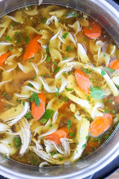 Instant-Pot-Pressure-Cooker-Chicken-Noodle-Soup from number 2 pencil