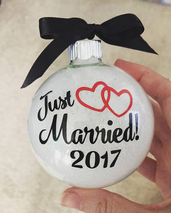 Just married ornament by EatLiveLoveNOLA