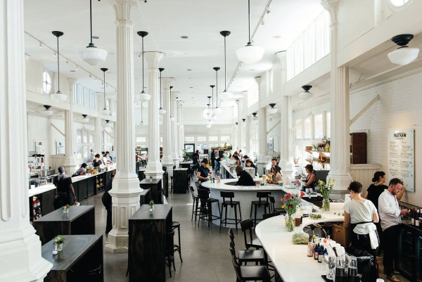 St roch market is a great place to get lunch or dinner. With many restaurants offering all different cuisines, its bound to make the perfect date.