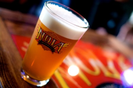 nola brewery offers free brewery tours every weekend. Enjoy some of their handcrafted beers and dine at their restaurant for a perfect date night.