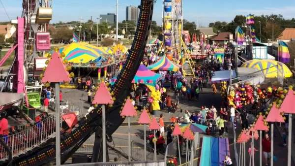 School fairs make a perfect date night for families or couples. The child can ride the rides and the adults can drink, eat and listen to the live bands.