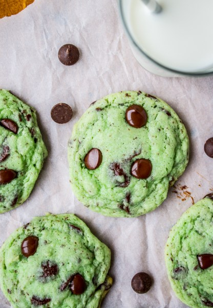Mint Chocolate chip- the food charlatan