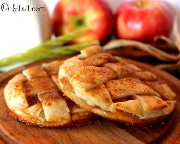 apple pie cookies from ohbiteit