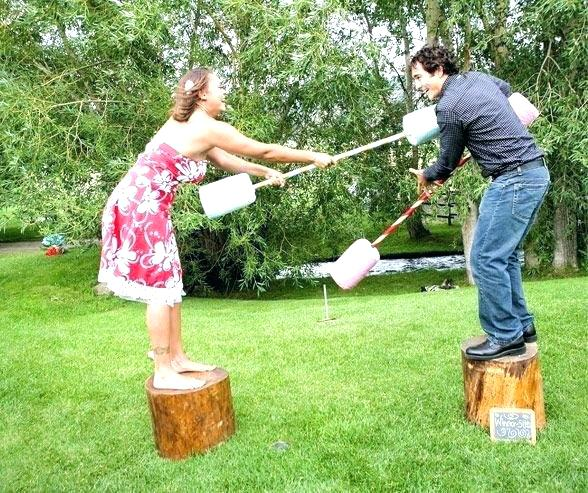 make your own backyard games or buy some online for some hilarious fun as a couple. A great group date idea by having some friends over and busting out some fun backyard games.