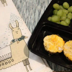 These egg muffins are sure to please as you can make them to your preference. A perfect on the go breakfast or snack to keep you full. A nice gluten free, kept friendly option for breakfast- adventures of b2
