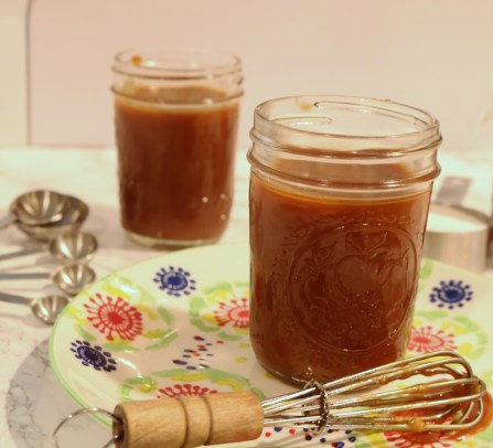 Sweet decadent homemade salted caramel sauce is perfect for all caramel lovers. Just 4 ingredients go into this making it a very simple recipe.