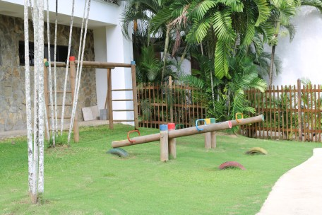 Seesaws and monkey bars are just some of the few things that Dreams Delight Panama offers as entertainment for the kids.