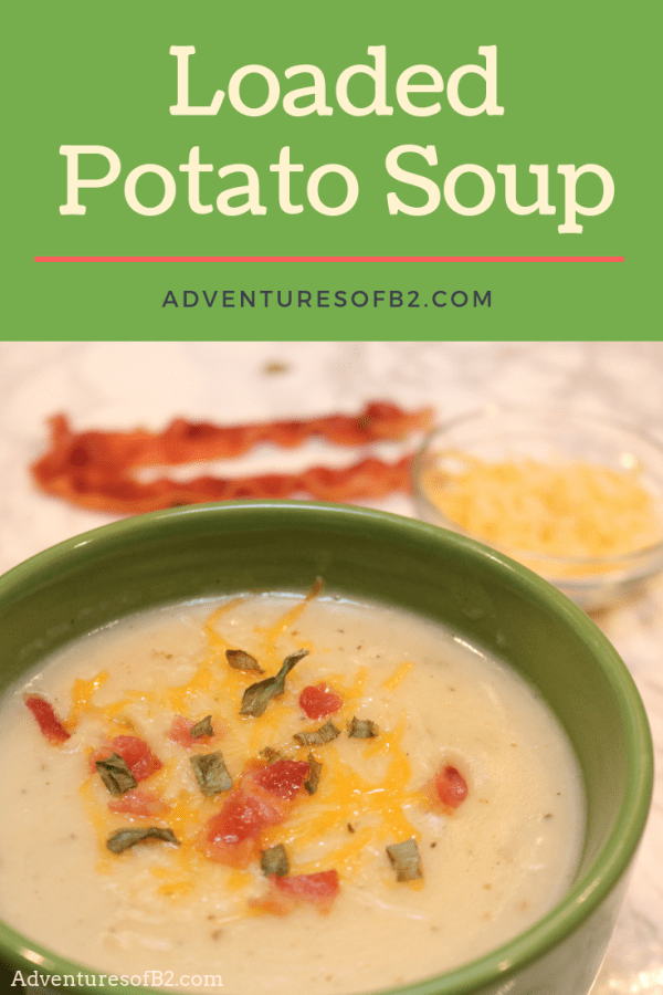 This creamy loaded potato soup is packed with all the flavors of a baked potato loaded with butter, cheese, and bacon but without all the fat. This recipe is perfect for keeping you warm during the fall and winter months.