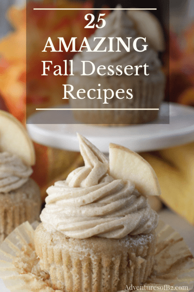 25 amazing fall dessert recipes that are perfect for satisfying your sweet tooth during this holiday season.