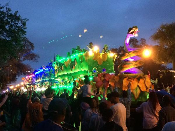 Endymion is one of the largest and most elaborate parades of the New Orleans Mardi Gras season. For a first timer, it can be overwhelming, Here a few tips from a local to help you survive your first Mardi Gras.