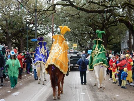 Purple, green and gold are the colors of Mardi Gras here in New Orleans. People line the streets as the parade strolls down the road. If you're coming for your first time, it can be overwhelming. Help make it less stressful with this ultimate guide for surviving mardi gras from a local. - Adventuresofb2.com