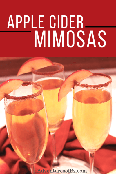 Apple cider mimosas encompass all the holidays have to offer. Light, bubbly and refreshing, this holiday cocktail will be perfect for any Thanksgiving brunch or afternoon Christmas party.