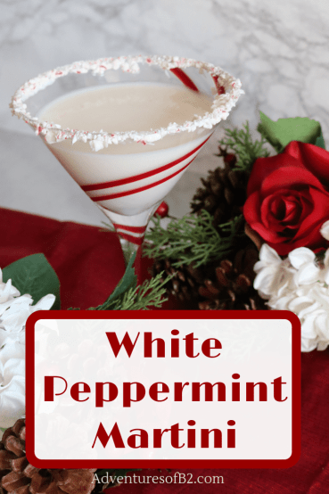 White chocolate peppermint martini incorporates swirls of deliciously creamy white chocolate and cooling sense of peppermint. A delightful Christmas cocktail for any holiday celebration!