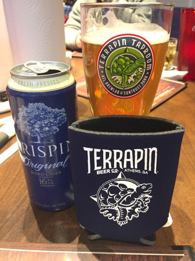 Enjoy some great beer and a brewery tour over at terrapin taproom in atlanta, Ga. One of the many great places to eat and drink at in Atlanta, Ga. - Adventures of B2