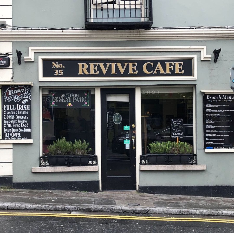 Stop by for lunch or breakfast at the Revive Cafe before heading out to explore Galway on your Ireland road trip. This quaint little cafe has fantastic wraps and smoothies! -Adventuresofb2.com
