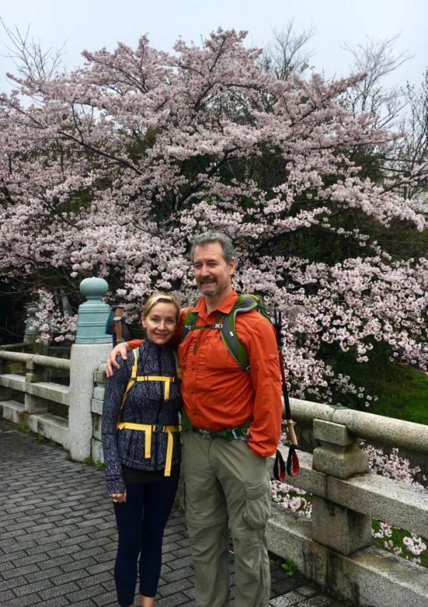 walking through Japan