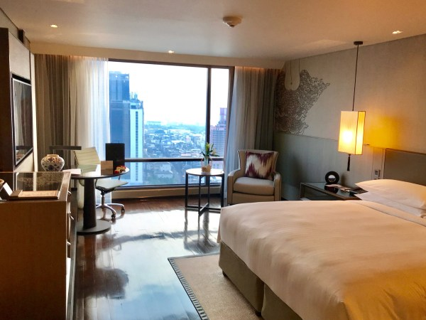 My room at the Marriott Marquis in Bangkok is one of the Ten reasons to visit Thailand.