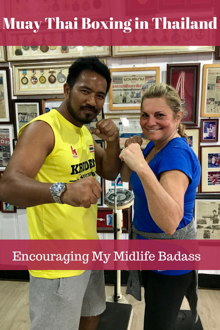Thai Boxing in Thailand :: Encouraging My Midlife Badass
