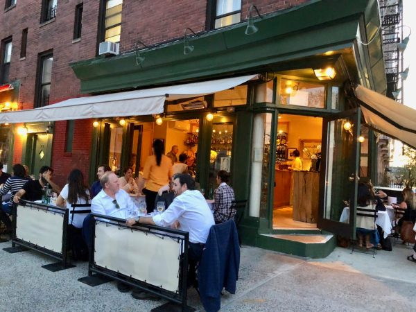 New York City restaurant recommendation