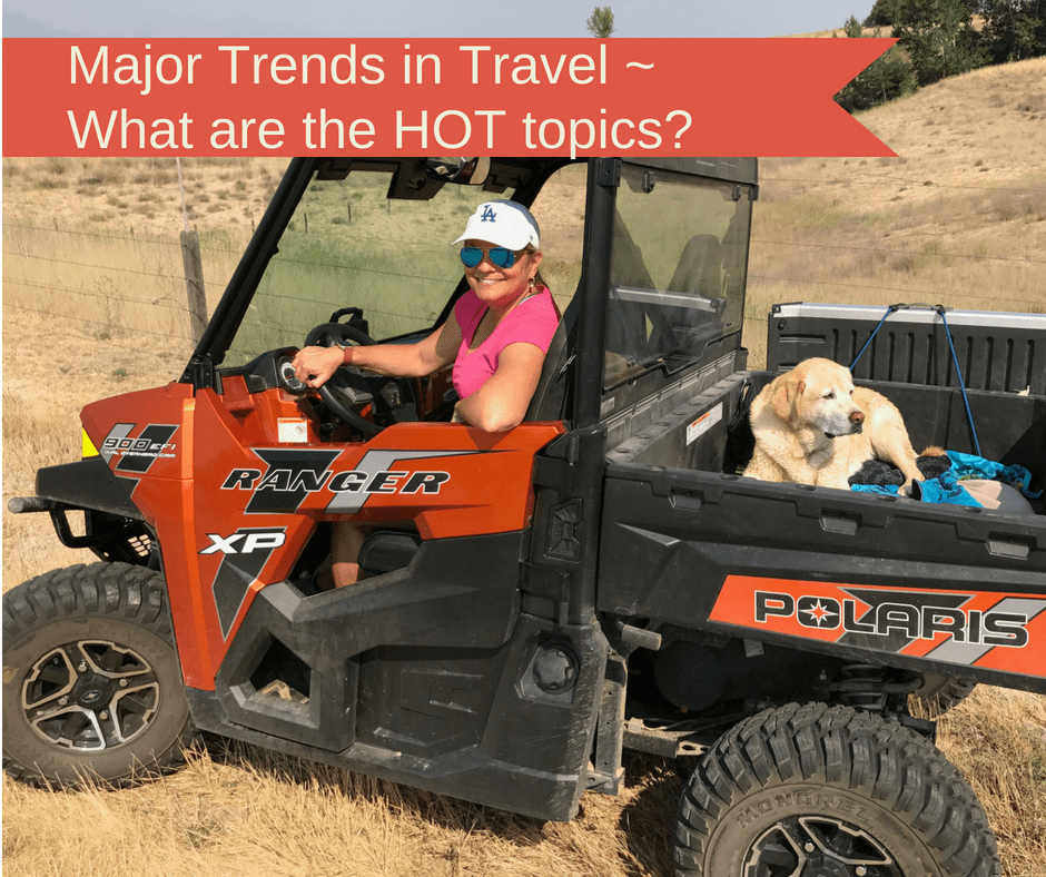 Major Trends in Travel ~ What are the HOT topics?