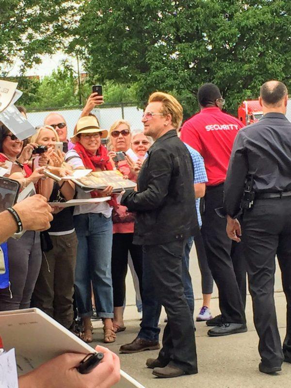 How I met Bono