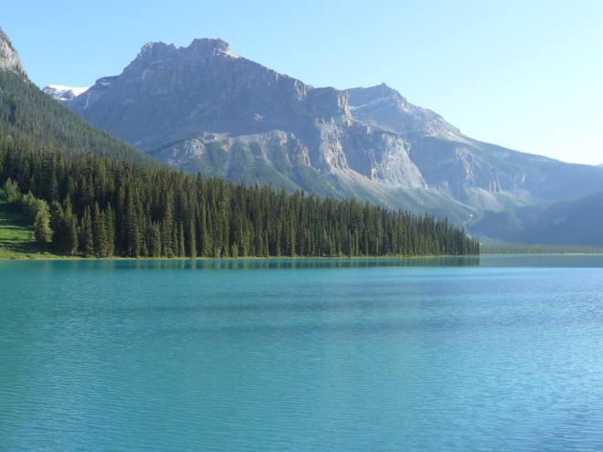 Emerald Lake in Yoho National Park, British Columbia