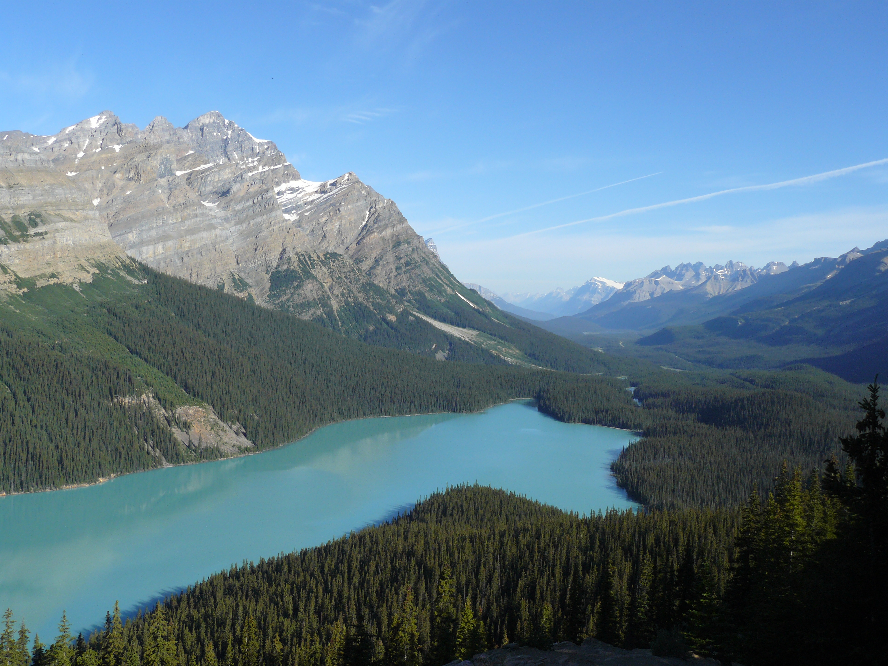 Canadian Wilderness L Shaped Lake