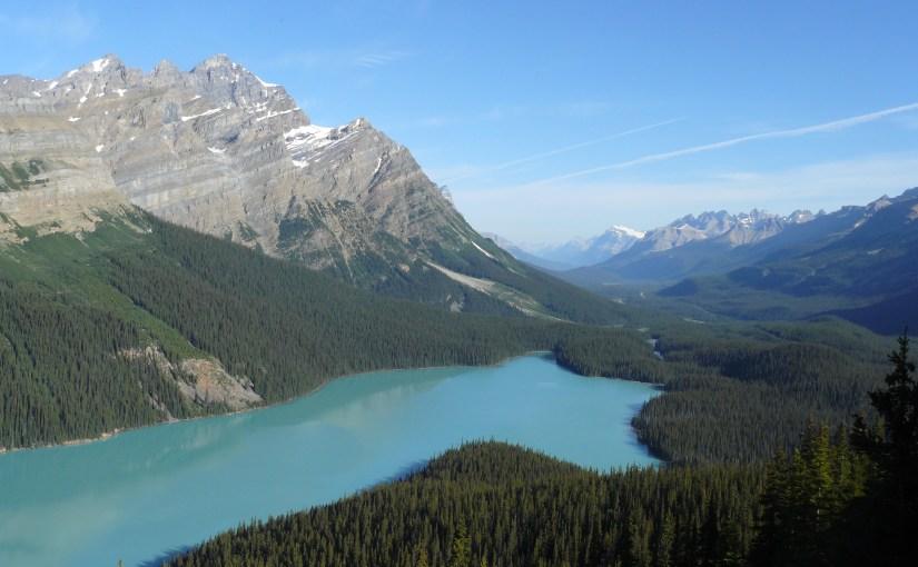 Peyto Lake & Lupe's Search for the Peyto Glacier (7-26-13)