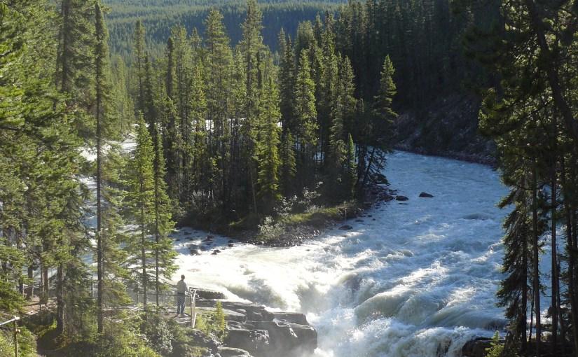 Sunwapta & Athabasca Falls, Jasper National Park, Canada (7-28-13)