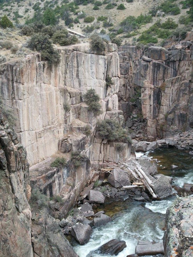 Below Shell Falls, Bighorn Mountains, WY 8-9-15