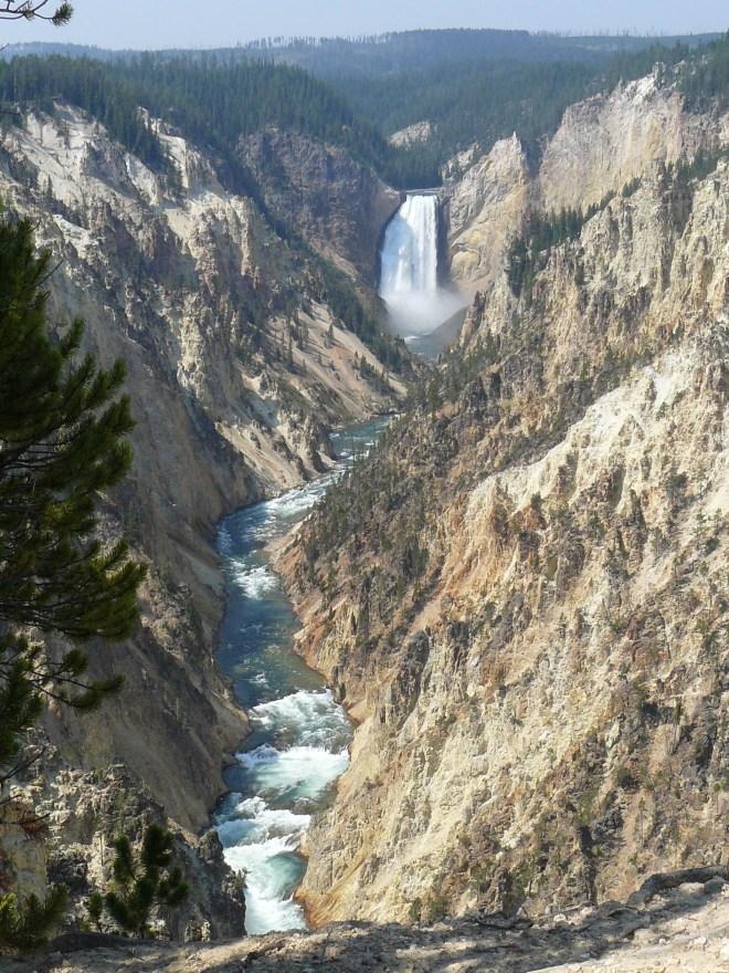 Lower Yellowstone Falls, Yellowstone NP, WY 8-12-12