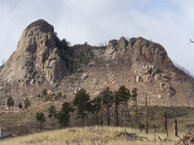 Sheep Nose in Douglas County, Colorado. Photo looks W.
