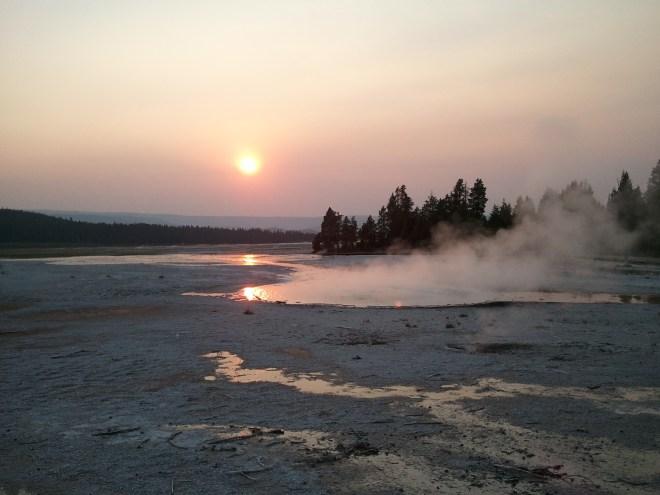 Lower Geyser Basin, Yellowstone NP, WY 8-12-12