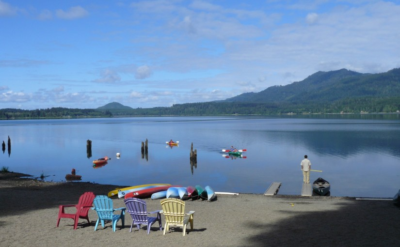 Lake Quinault on the Olympic Peninsula & Iron Creek Campground, Washington (8-23-12)
