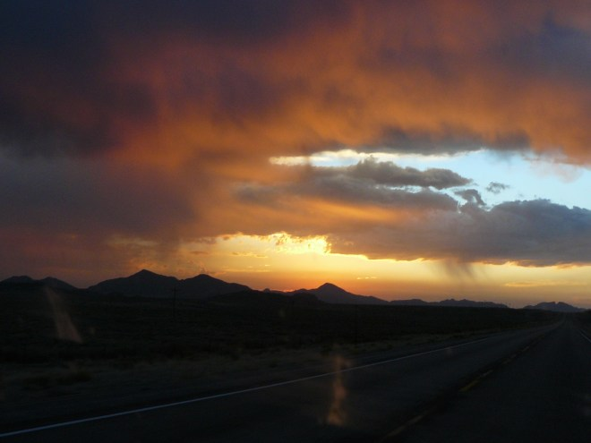 Dawn in Wyoming, 8-30-12