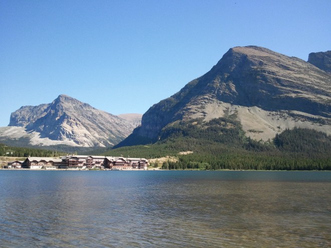 Swiftcurrent Lake & Many Glacier Hotel, Glacier NP, 8-17-12