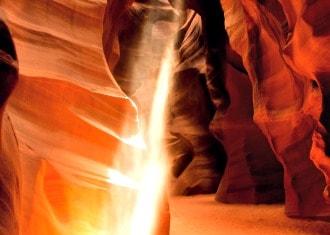 Antelope Canyon Sunlight