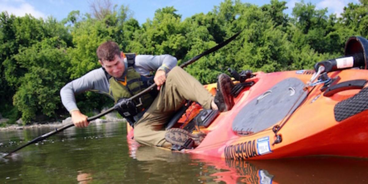 Kayak skills: Don't flip out, brace yourself!