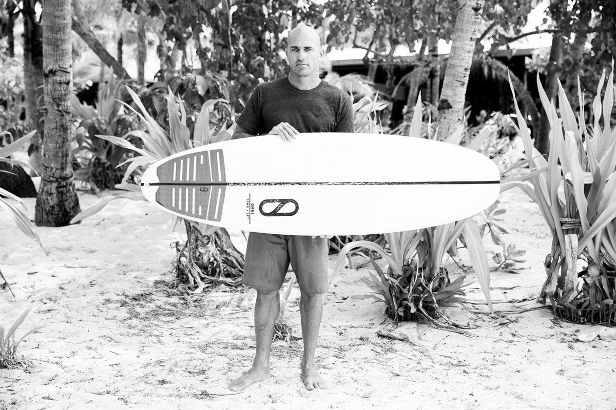 8955f059c6bc Kelly Slater's OMNI model is a unique board, to say the least. Photo:  Firewire