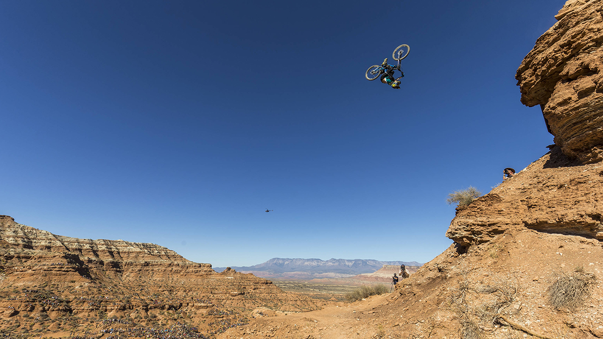 Red Bull Rampage >> The Year S Craziest Mountain Bike Event Red Bull Rampage Did Not