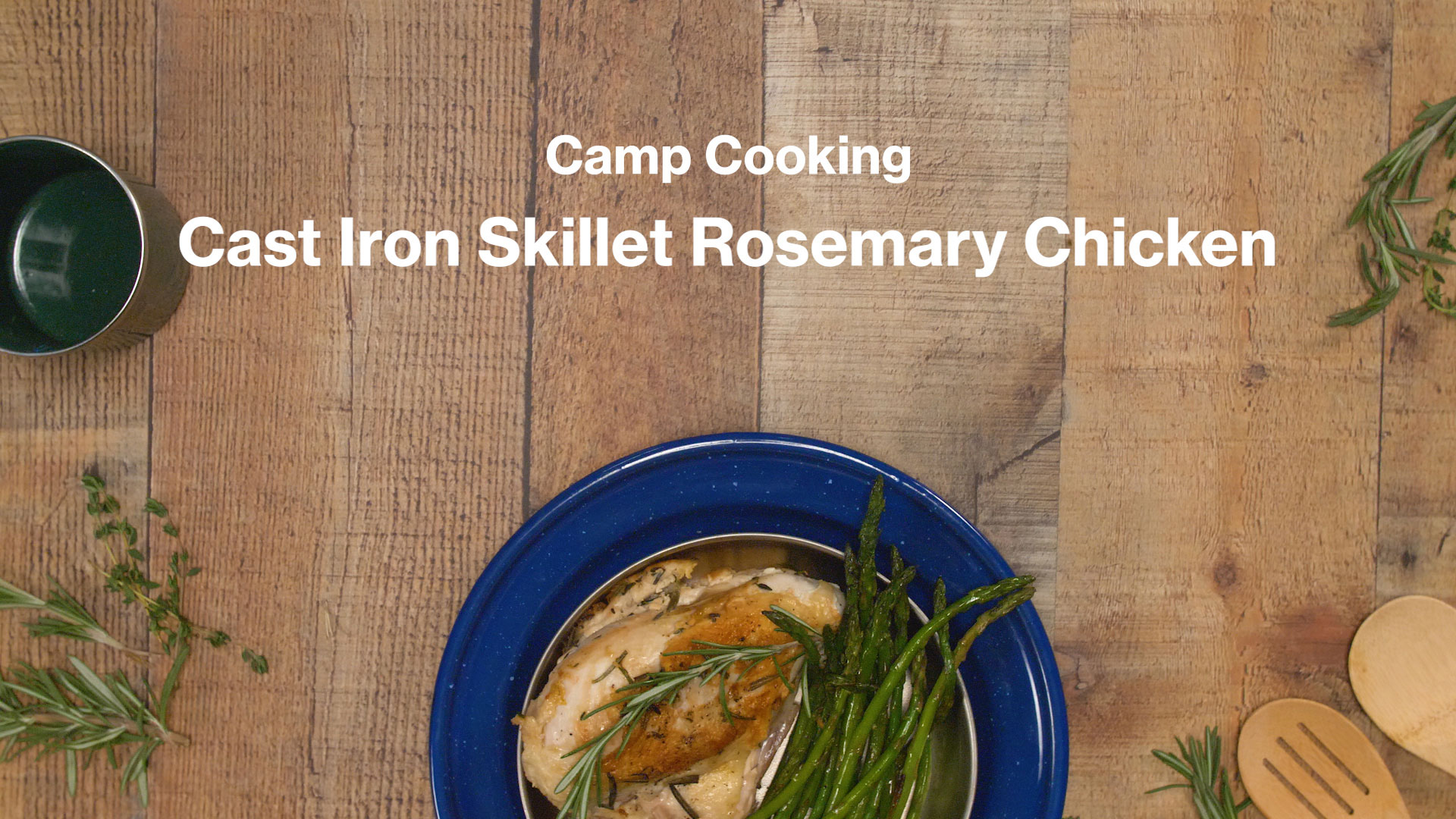 Make This Easy Rosemary Chicken in a Cast Iron Skillet | Adventure