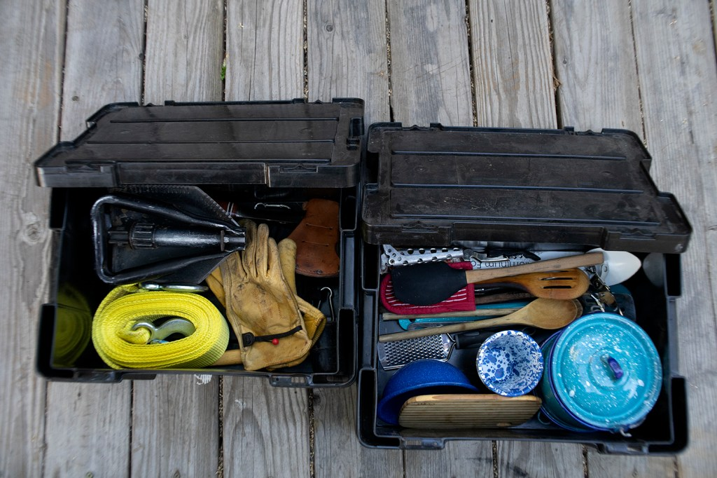 Tips for Organizing Your Camp Containers Before Hitting The Road