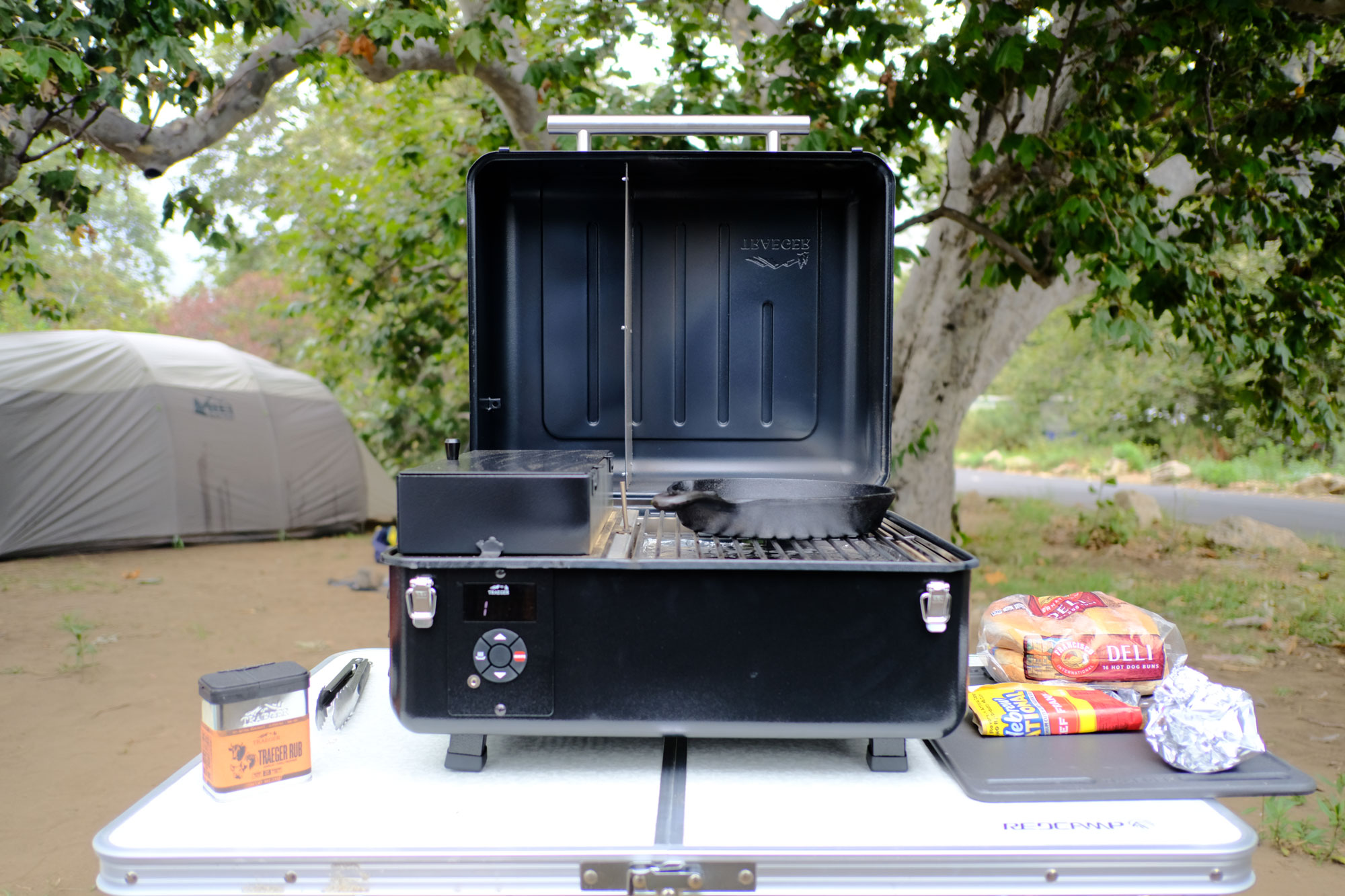 The Compact, Portable Traeger Ranger Takes Camp Cooking to the Next Level