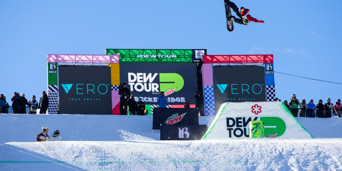 Winter Dew Tour Heads to Copper Mountain, Colorado February 6-9, 2020