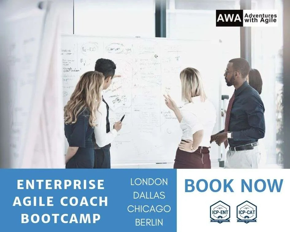 enterprise agile coach bootcamp training
