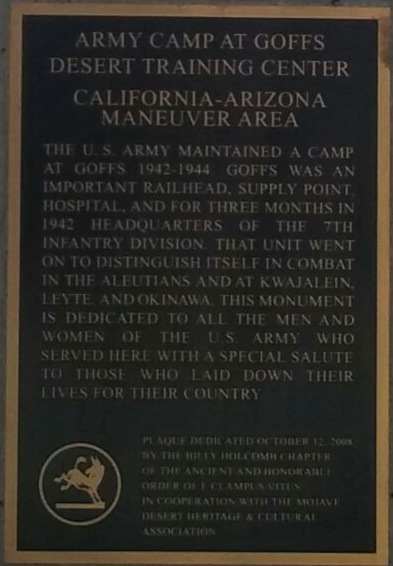 Closeup of the second plaque