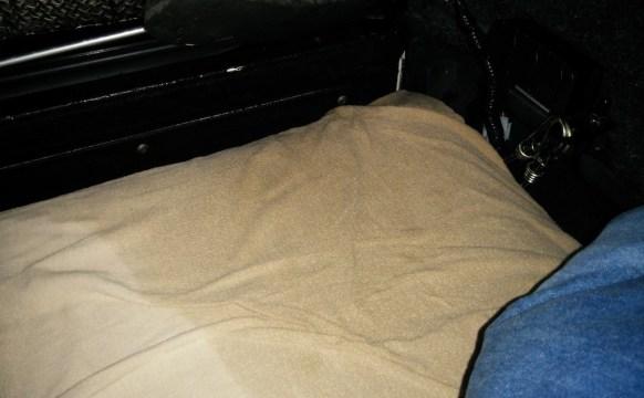 rain-soaked bedsheets