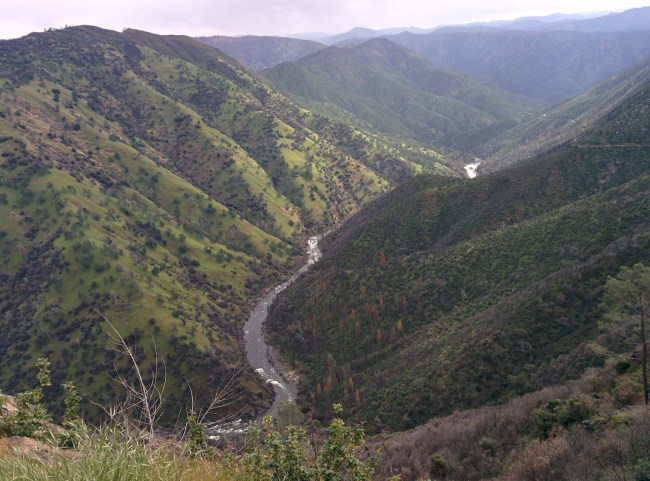 Looking Down Into the Valley Off of 1N10