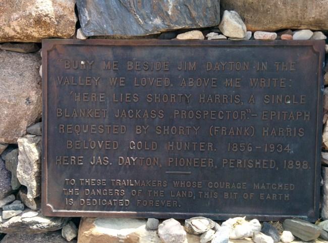 Harris-Dayton Grave Marker